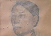 Ki Glembo - 1936 - 34 x 47 cm - Pencil on Paper